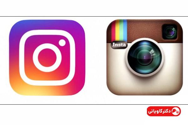 تغییر لوگو اینستاگرام