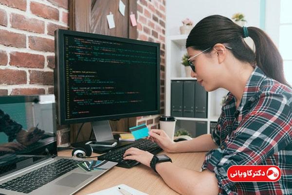 شغل پردرآمد با سرمایه کم برای خانم ها و برنامه نویسی